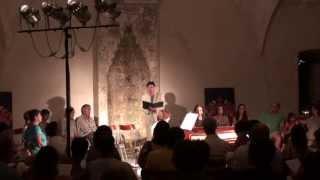"John Dowland ""I saw my lady weep"" Nikos Spanatis, countertenor & Katerina Ktona, harpsichord"