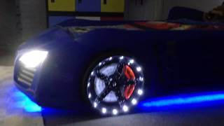 V8 Quattro - The Ultimate Racing Car Beds For Kids