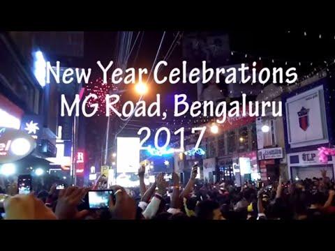 New Year Celebration at MG Road & Brigade Road Bengaluru | Sakre Vlog