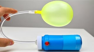 How to Make Air Pump for Ballons - Easy Way