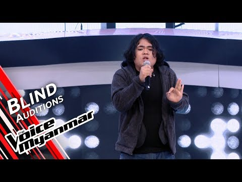 Biko - Writing's On The Wall (Sam Smith)   Blind Audition - The Voice Myanmar 2019