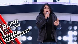Biko - Writing&#39s On The Wall (Sam Smith) Blind Audition - The Voice Myanmar 2019