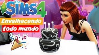 ENVELHECENDO TODO MUNDO!! - 100 BEBÊS #191 - THE SIMS 4