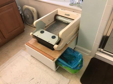 Automatic Litter Box Modification