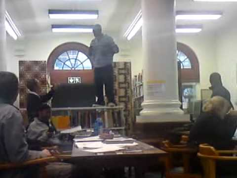 Gripped at African Studies Library UCT