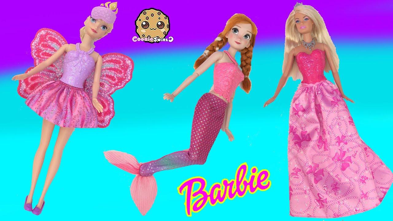 Barbie Fairy Vs Mermaid Vs Princess - Princess