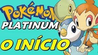 Pokémon Platinum (Detonado - Parte 1) - O Início com Chimchar, Dawn e Shinx