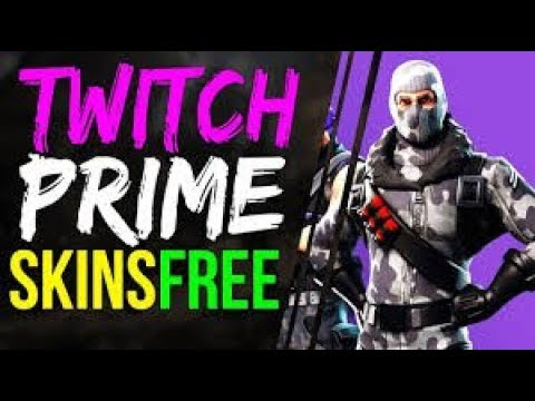 HOW TO GET TWITCH PRIME SKIN FOR FREE - Fortnite Battle ...