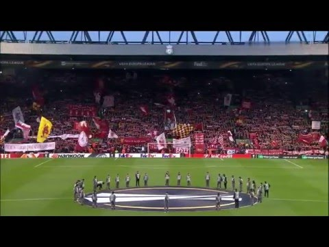 You'll Never Walk Alone (Liverpool vs Dortmund 14th April 2016)
