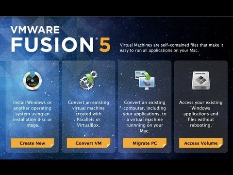 install windows 7 on mac using vmware fusion 5