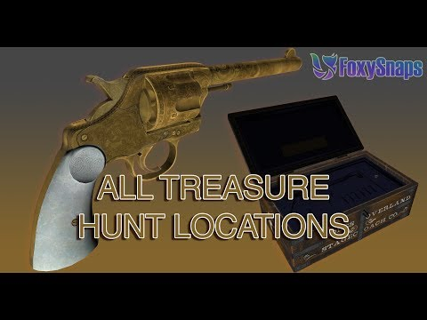 GUIDE: ALL 20 LOCATIONS FOR THE RDR2 DOUBLE-ACTION REVOLVER TREASURE HUNT GTA ONLINE