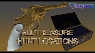 GTA 5 GUIDE: ALL 20 LOCATIONS FOR THE RDR2 DOUBLE-ACTION REVOLVER TREASURE HUNT GTA ONLINE