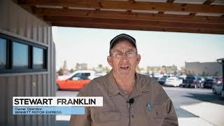 Bennett Owner Operator Stewart Franklin's Relationships Drive His Trucking Business