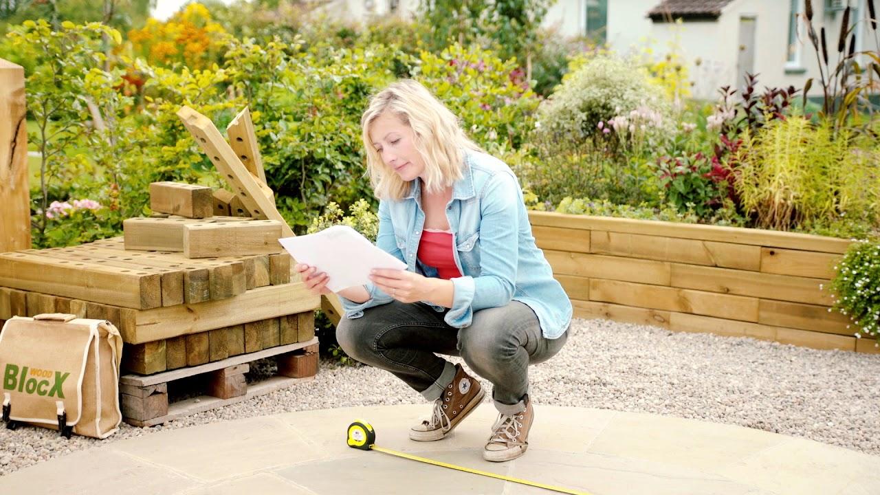 Hochbeete Pflanzer Stutzmauern Teiche Bauen Sie Es Mit Woodblocx
