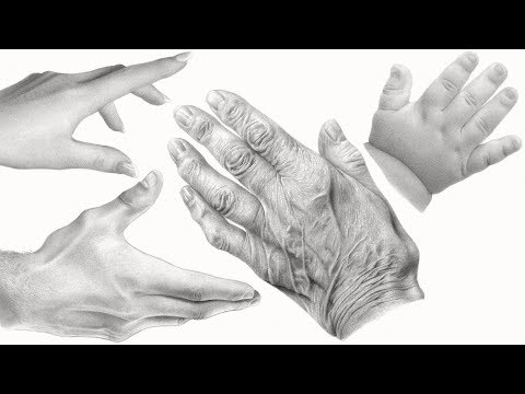 How to Draw HANDS + SHADING