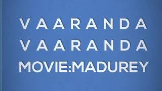 Vaaranda Vaaranda song from Madurey movie,vijay song,tamil movie.