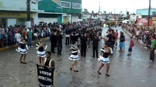 Juventude Cultural apre. Desfile de bandas em Condado-PE / Banda Marcial Antonio Moraes