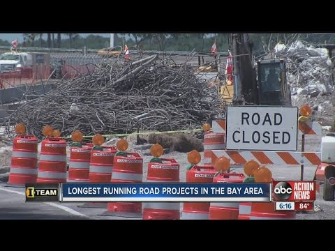 I-Team: Top 3 longest running road construction projects in