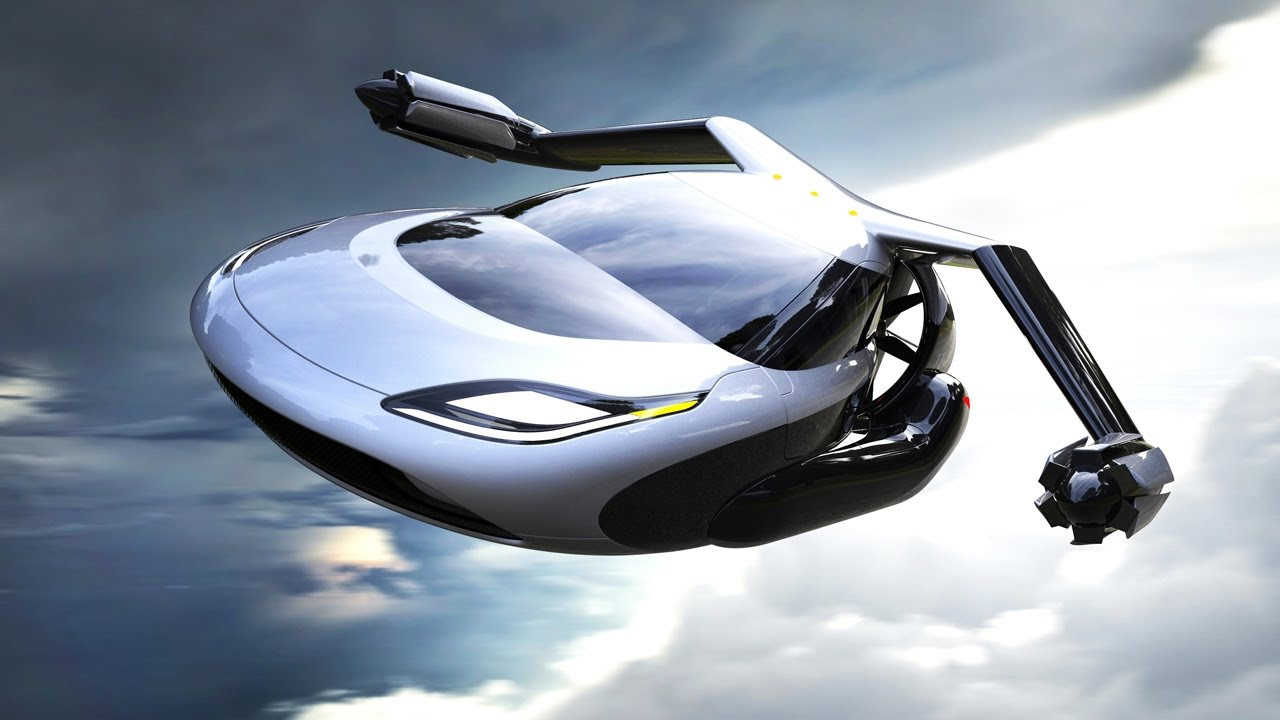 Flying Car Terrafugia Tf X The Future Of Transportation Youtube