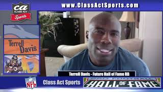Flashback to when Terrell Davis discusses potential to be inducted into the Hall of Fame