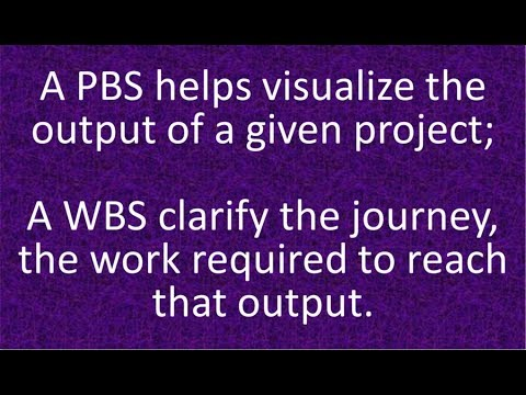 What Are The Differences Between PBS And WBS?