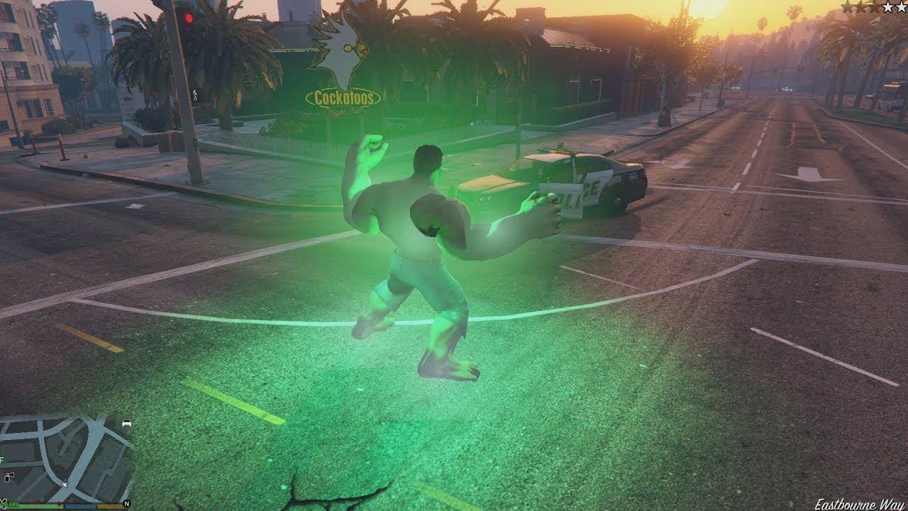 Gta 4 Hulk Mod