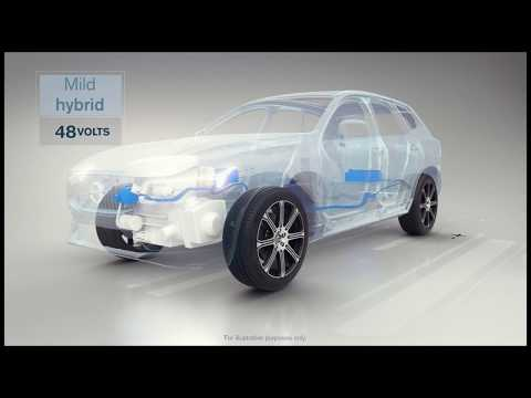 Volvo Cars electrification strategy (animation)