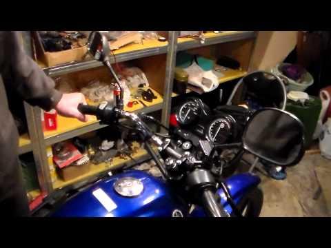 Как диагностировать состояние подшипников рулевой мотоцикла YAMAHA YBR 125
