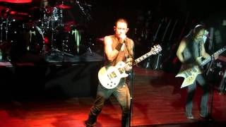 Trivium - Caustic Are The Ties That Bind (05.11.2011, Milano, Magazzini Generali)
