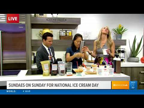 National Ice Cream Day with Sweet Republic