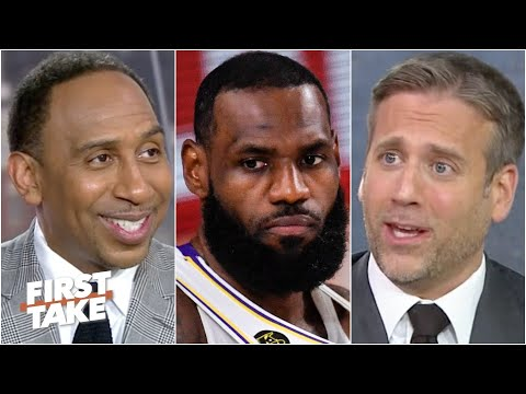 Lakers fan Max Kellerman is 'SCARED' after the Nuggets' Game 3 win | First Take