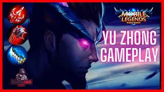 MLBB | YU ZHONG GAMEPLAY INTENSE GAME HIGH POINT MATCH | MOBILE LEGENDS ROAD TO MYTHICAL GLORY