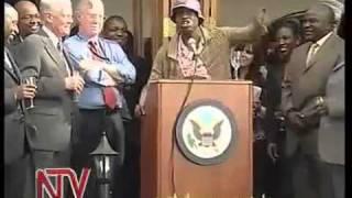REDYKYULASS NYAMBANE AT THE OBAMA VICTORY CELEBRATIONS US EMBASSY IN KENYA - You.flv