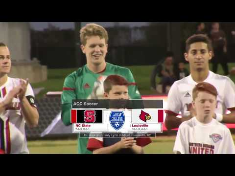 2017.10.21 NC State Wolfpack at #5 Louisville Cardinals Men's Soccer