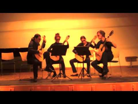 Eufonia-Quartett plays The James Bond Theme by Monty Norman