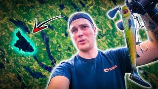 Trying Out a New Water In The Middle Of The Forest (CRAZY PIKE FISHING) | Team Galant