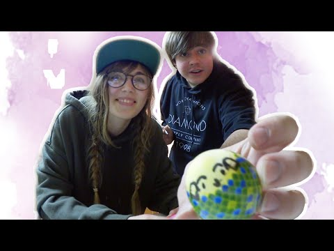 Colouring Eggs With My American Boyfriend! ❀ MERMAID STYLE