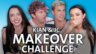 Makeover Challenge with Kian and Jc - Merrell Twins