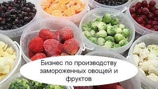 Бизнес по производству замороженных овощей и фруктов