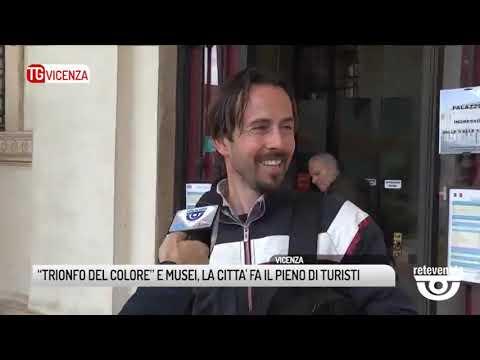 """TG VICENZA (24/04/2019) - """"TRIONFO DEL COLORE""""..."""