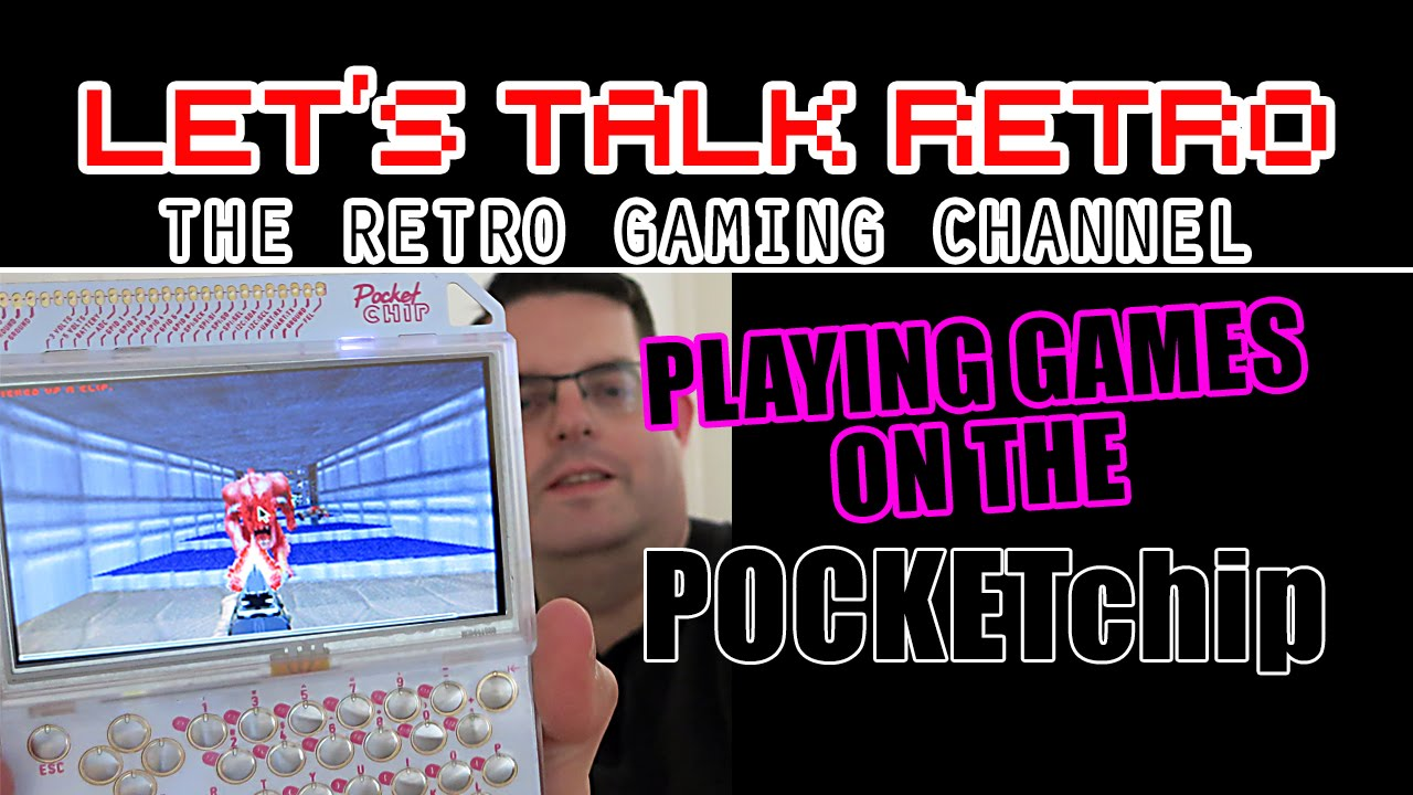 Playing Games on the Pocket Chip (Let's Talk Retro)