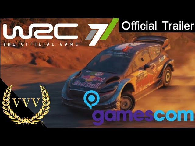 WRC 7 Trailer Gamescom 2017