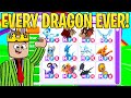 i traded EVERY dragon in the game (adopt me)