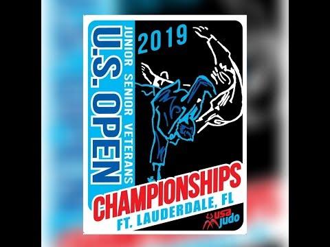US Open Judo Championships Day 1 Mat 2