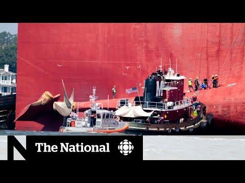 Yoboiivan - Crew trapped inside capsized cargo ship off Georgia coast are rescued