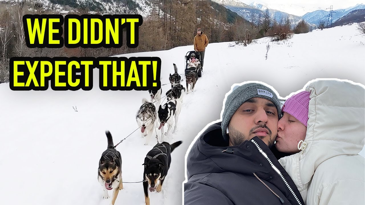 Took My Husband on an unexpected ride ❄️❄️..