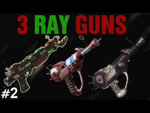 3 Ray Guns - Black Ops 2 Zombies Buried Tutorial #2 - Triple Ray Gun Wallbuy