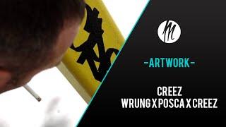INTERVIEW CREEZ - COLLAB WRUNG X POSCA X CREEZ