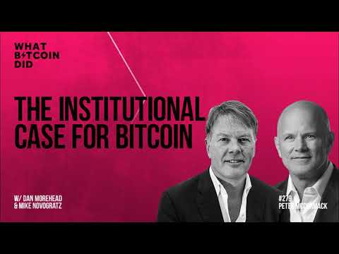 The Institutional Case for Bitcoin with Dan Morehead and Mike Novogratz
