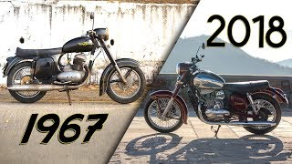 2018 Jawa vs 1967 Jawa | How Much Have Things Changed? | ZigWheels.com